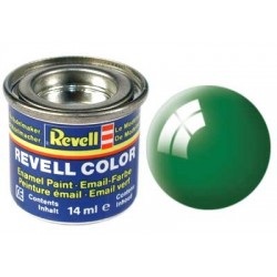 Revell - Pot Peinture 61 - Vert- Emeraude - Brillant