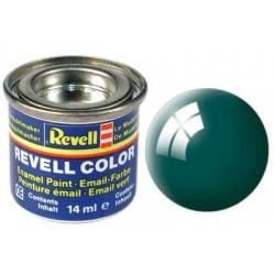 Revell - Pot Peinture 62 - Vert- Foncé - Brillant