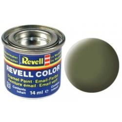 Revell - Pot Peinture 68 - Vert - foncé - RAF - Mat