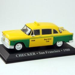 Checker Taxi - San Francisco - 1980 - 1/43 ème En boite