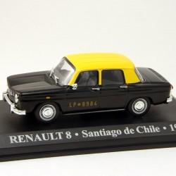 Renault 8 Taxi - Santiago de Chile - 1965 - 1/43 ème En boite