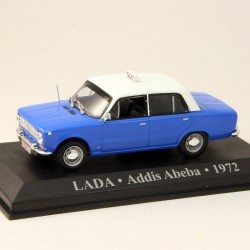 Lada Taxi - Addis Abeba - 1972 - 1/43 ème En boite