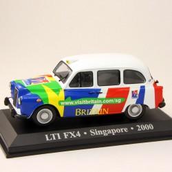 LTI FX4 Taxi - Singapore - 2000 - 1/43 ème En boite