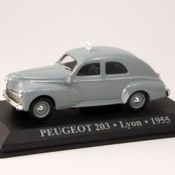 Peugeot 203 Taxi - Lyon - 1955 -1/43 ème En boite