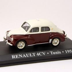 Renault 4cv Taxi - Tunis - 1955 - 1/43 ème En boite