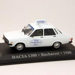 Dacia 1300 Taxi - Bucharest - 1980 - 1/43 ème En boite