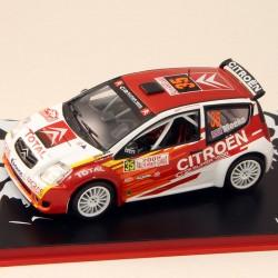 Citroen C2 - Rallye Monte Carlo 2005 - 1/43 ème En boite