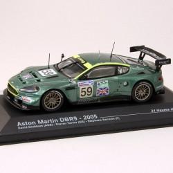 Aston Martin DBR9 - 24 heures du Mans 2005 - 1/43 ème En boite
