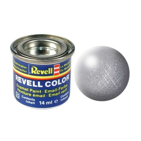 Revell - Pot Peinture 91 - Gris-Acier-Gun-Métal