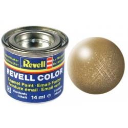 Revell - Pot Peinture 92 - Laiton - Métal