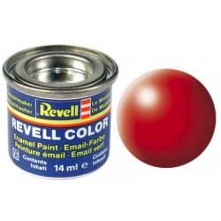 Revell - Pot Peinture 332 - Rouge - Fluo - Satiné