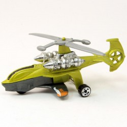 Hélicoptere Sky Knife - Hot Wheels - 3 inch Sans Boite