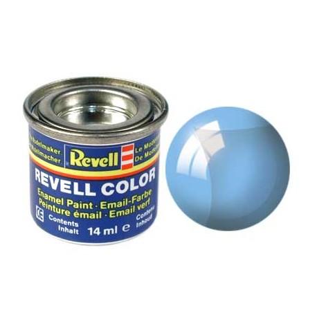 Revell - Pot Peinture 752 - Bleu  - Translucide