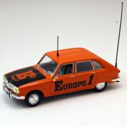 "Renault 16 "" Europe 1 "" - Norev - 1/43 ème Sous blister"