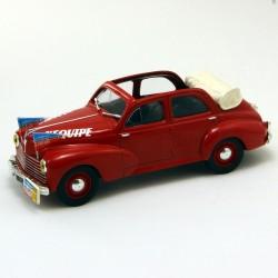 """Peugeot 203 """" L'equipe """" - Norev - 1/43 ème sous blister"""