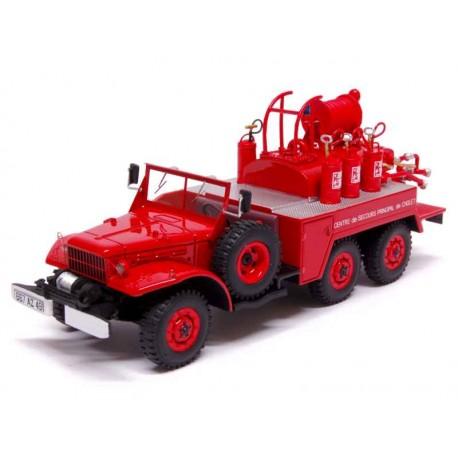 ALERTE - Dodge Froger 49 - Camion de Pompiers 1/43ème