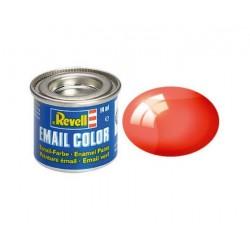 Revell - Pot Peinture  731 - Rouge  - Translucide