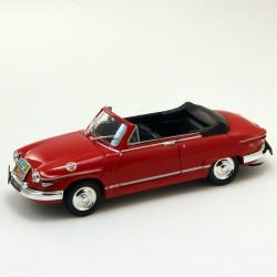 """Panhard PL17 Cabriolet  """"Commissaire Géneral"""" - Norev - 1/43ème"""