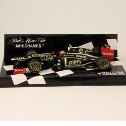 Lotus Renault E20 R.Grosjean 2012 - Minichamps - 1/43ème En boite