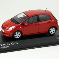 Toyota Yaris - Minichamps - 1/43ème En boite