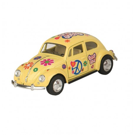 Volkswagen Coccinelle - Rose - Kinsmart - 1/32 ème