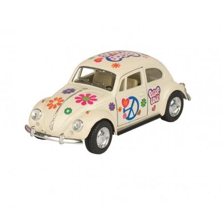 Volkswagen Coccinelle - Jaune - Kinsmart - 1/32 ème