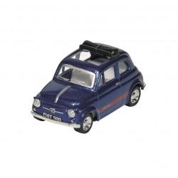 Fiat 500 - Bleu Nuit - Kinsmart - 1/48 sans boite