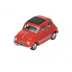 Fiat 500 - Rouge - Kinsmart - 1/48 sans boite