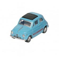 Fiat 500 - Bleu - Kinsmart - 1/48 sans boite