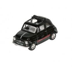 Fiat 500 - Noir - Kinsmart - 1/48 sans boite