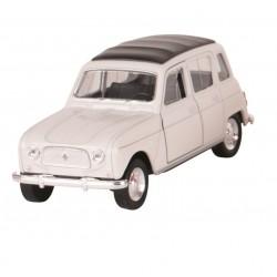 Renault 4L - Blanc - Welly - 1/34-1/39 ème En boite