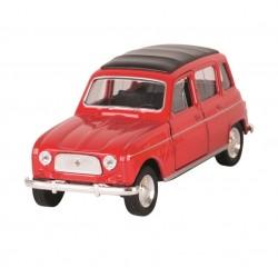 Renault 4L - Rouge - Welly - 1/34-1/39 ème En boite