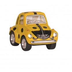 Volkswagen Coccinelle KT2001 - Vert - Kinsfun - 5 cm de longeur 2,8 cm de Hauteur