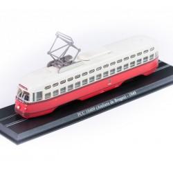 Tramway PCC 10409 ( Ateliers de Bruges ) - Atlas - 1/87 ème En boite