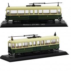 Tramway Motrice L (STCRP) - Atlas - 1/87 ème En boite