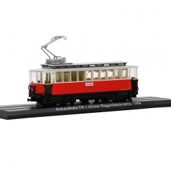 Tramway Stubaitalbahn TW 1 (Grazer Waggonfabrik / AEG) - Atlas - 1/87 ème En boite
