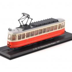 Tramway C1 Nr. 141 (Simmering-Graz-Pauker) - Atlas - 1/87 ème En boite