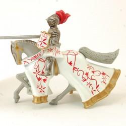 Cavalier sur son Cheval - en Plomb