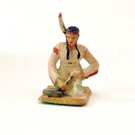 Femme Indienne - Starlux - En plastique