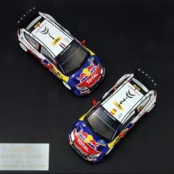 Citroen WRC Champion Team 2009 - IXO - 1/43 ème En boite