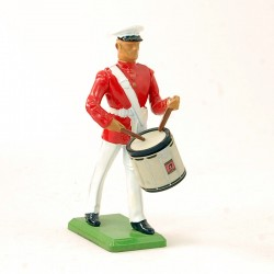 Militaire joueur de tambour - Britains 1986 - En plomb