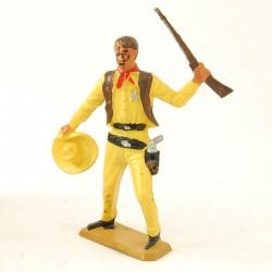 Shérif Cowboy avec Fusil - Starlux - En plastique