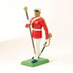 Militaire en parade - Britain - En plomb
