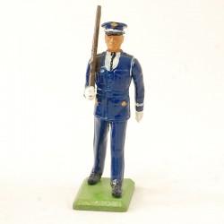 Soldat en Parade & Fusil - Britains 1986 - En plomb
