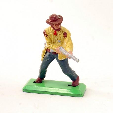 Cowboy avec Fusil - Britains Deetail 1971 - En plastique