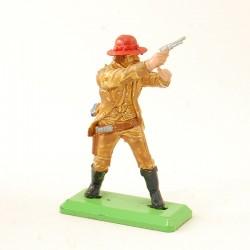 Cowboy qui Tire - Britains Deetail 1971 - En plastique