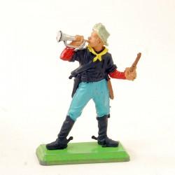 Soldat Musicien avec Trompette - Britains Deetail - En plastique