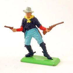 Soldat avec Fusil & Pistolet - Britains Deetail 1971 - En plastique