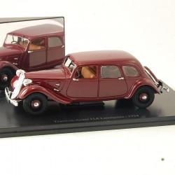 Citroen Traction - Avant 11A Limousine - 1934 Atlas - 1/43 ème En boite