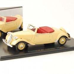 Citroen Traction 15 six - Cabriolet - 1939 - Atlas - 1/43 ème En boite